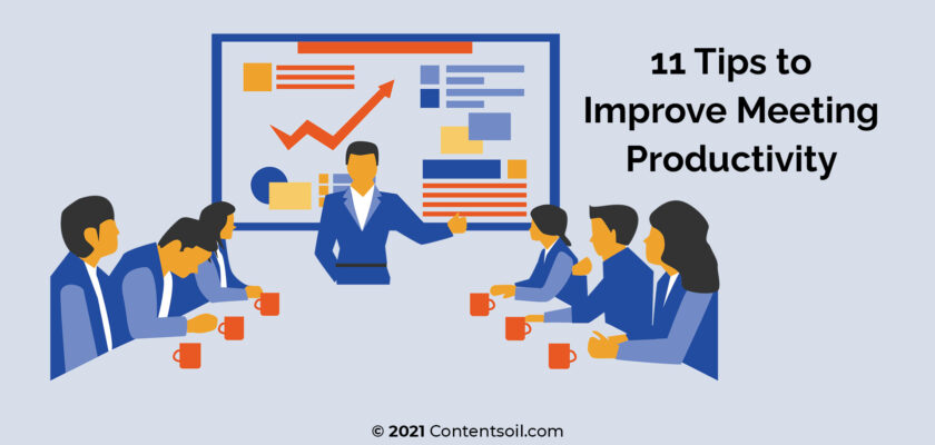 Improve meeting productivity