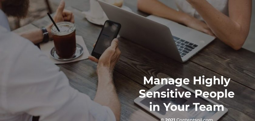 Manage Highly Sensitive People