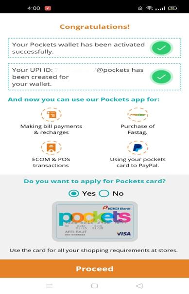 Pocket Activation